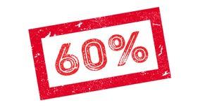 sello de goma del 60 por ciento Imágenes de archivo libres de regalías