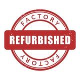 Sello de goma del restaurado de fábrica Foto de archivo libre de regalías