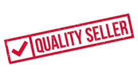 Sello de goma del vendedor de la calidad Imagen de archivo libre de regalías