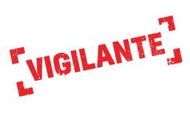 Sello de goma del vigilante Imagen de archivo