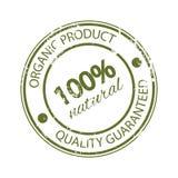 Sello de goma el 100% natural Producto original Calidad garantizada Imagenes de archivo