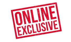 Sello de goma exclusivo en línea fotografía de archivo libre de regalías