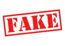 Sello de goma falso stock de ilustración