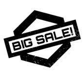 Sello de goma grande de la venta Imagen de archivo libre de regalías