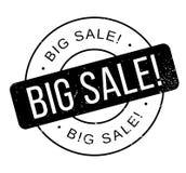 Sello de goma grande de la venta Imagenes de archivo