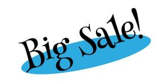 Sello de goma grande de la venta Imágenes de archivo libres de regalías