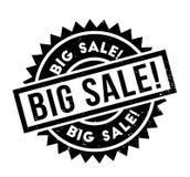 Sello de goma grande de la venta Fotografía de archivo