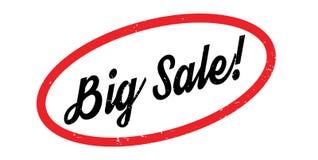 Sello de goma grande de la venta Foto de archivo