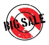 Sello de goma grande de la venta Foto de archivo libre de regalías