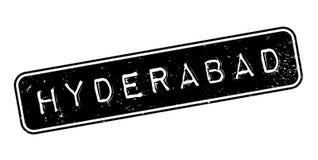Sello de goma de Hyderabad ilustración del vector