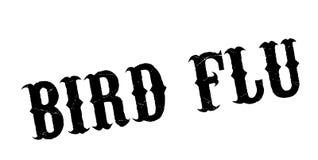 Sello de goma de la gripe aviar libre illustration