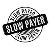 Sello de goma lento del pagador libre illustration