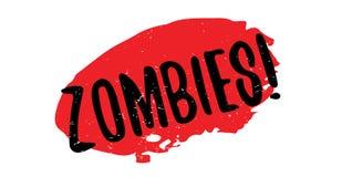 Sello de goma de los zombis libre illustration