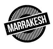 Sello de goma de Marrakesh Fotografía de archivo