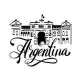 Sello de goma negro del grunge con el nombre de Buenos Aires la capital de la Argentina escrita dentro del sello Imagen de archivo