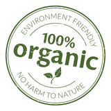 Sello de goma orgánico Imagen de archivo libre de regalías