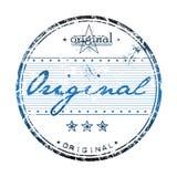 Sello de goma original Imagen de archivo libre de regalías
