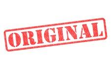 Sello de goma original stock de ilustración
