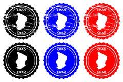 Sello de goma de República eo Tchad
