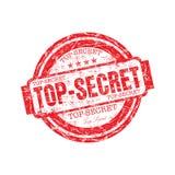 Sello de goma secretísimo Imagen de archivo libre de regalías