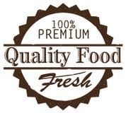 Sello de goma sucio de la comida superior fresca de la calidad Imágenes de archivo libres de regalías