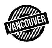 Sello de goma de Vancouver Imágenes de archivo libres de regalías