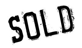 Sello de goma vendido Fotografía de archivo libre de regalías