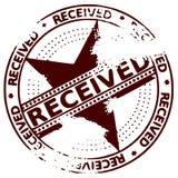 Sello de Grunge RECIBIDO Fotos de archivo libres de regalías