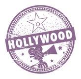 Sello de Hollywood ilustración del vector