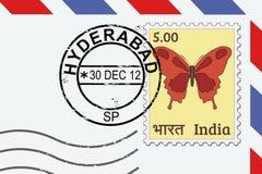 Sello de Hyderabad ilustración del vector