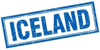 Sello de Islandia ilustración del vector