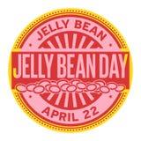 Sello de Jelly Bean Day Imagen de archivo libre de regalías