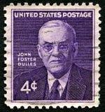 Sello de John Foster Dulles los E.E.U.U. Foto de archivo