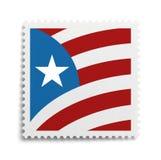 Sello de la bandera Fotografía de archivo libre de regalías
