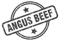 Sello de la carne de vaca de Angus libre illustration