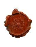 sello de la cera de los 1900s Imagenes de archivo