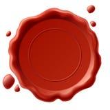 Sello de la cera del vector Foto de archivo libre de regalías