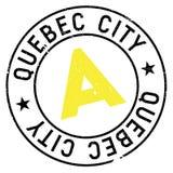 Sello de la ciudad de Quebec Fotografía de archivo libre de regalías