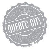 Sello de la ciudad de Quebec Fotos de archivo
