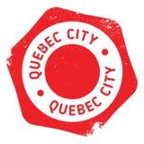 Sello de la ciudad de Quebec Imágenes de archivo libres de regalías