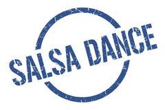 sello de la danza de la salsa stock de ilustración