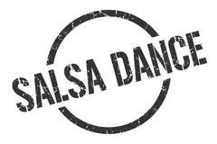 sello de la danza de la salsa ilustración del vector