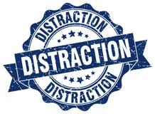 sello de la distracción sello ilustración del vector