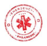 Sello de la emergencia Fotografía de archivo libre de regalías