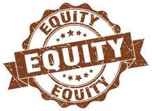 sello de la equidad sello stock de ilustración