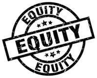 Sello de la equidad stock de ilustración