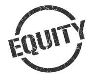 Sello de la equidad ilustración del vector
