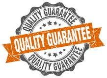 Sello de la garantía de calidad sello stock de ilustración