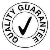 Sello de la garantía de calidad ilustración del vector