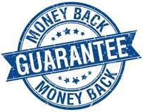Sello de la garantía del reembolso del dinero stock de ilustración